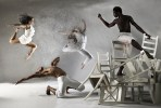 Laura Sharp, Victor Talledos, Erin Huestis and Jeffrey Van Sciver of Copious Dance Theater. Photo by Hemali Zaveri